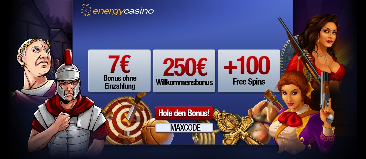 energy casino no deposit bonus codes