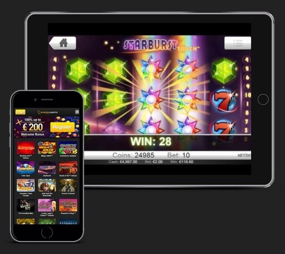 Energy Casino Mobile
