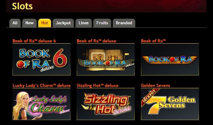online casino paypal book of ra dice and roll
