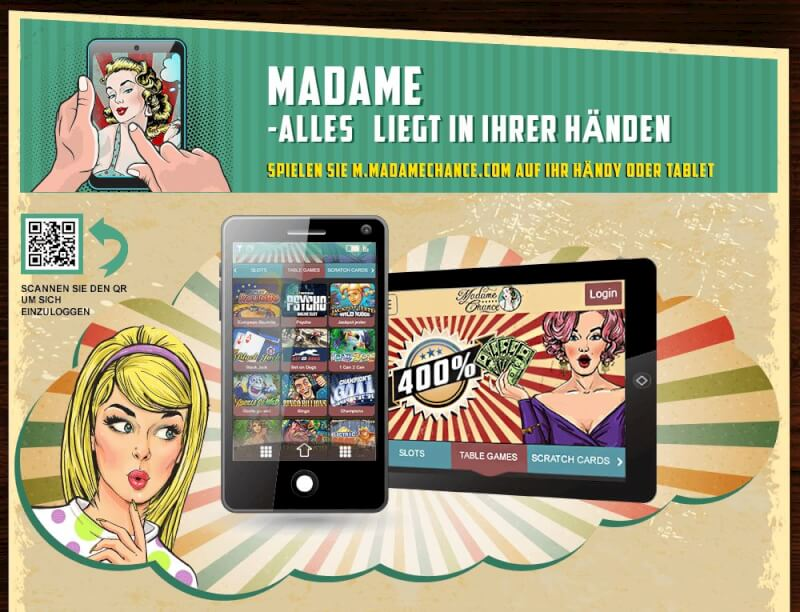 Madame Chance mobile