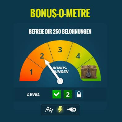 thrills casino Bonus