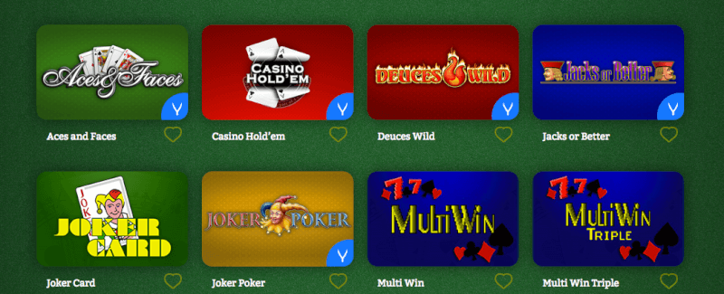 OnlineCasino Deutschland Video Poker