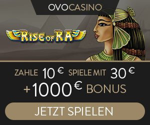 OVO Casino Book of Ra