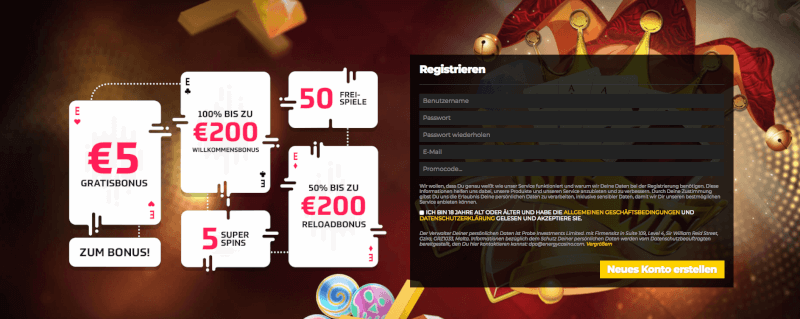 Energy Casino Bonus 2018