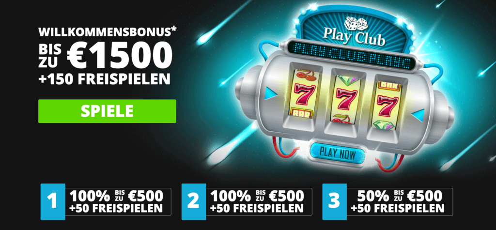 Play Club Bonus Code sichern