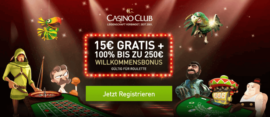 Casino Club Bonus Code 2020